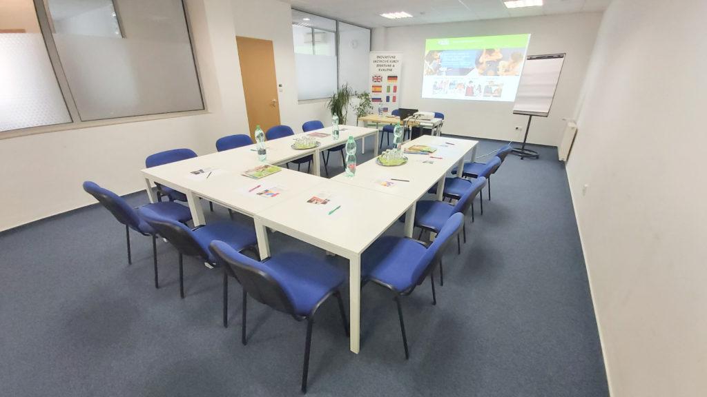 Zasadacia, konferenčná a školiaca miestnosť v Trnave